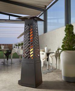 chauffe-terrasse-extérieur-pellet-granulé-chauffage-parasol-chauffant-brasero-brasserie