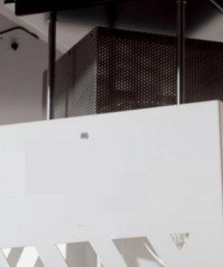 parasol-chauffant-extérieur-pellet-chauffage-terrasse-brasero-blanc-déflecteur